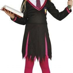 Fiestas Guirca Kostyme Trollmannens Lærling Jente 10-12 År