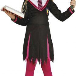 Fiestas Guirca Kostyme Trollmannens Lærling Jente 7-9 År