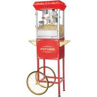Great Northern Popcornvogn All Star 8-10 liter Rød