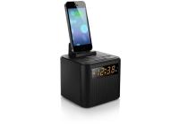Philips AJ3200/12, Ur, Digital, FM, 87,5 - 108 Mhz, iPhone 4,iPhone 4S,iPhone 5, Sort