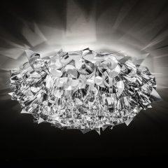 Slamp Veli Large design-taklampe, Ø 78 cm, sølv