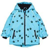Småfolk Winter Jacket Boy Apple Blue Grotto 3-4 år