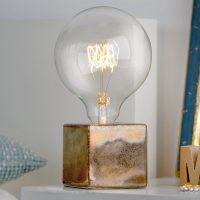 Villeroy & Boch Helsinki – bordlampe bronse