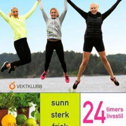24 timers livsstil: sunn, sterk, frisk