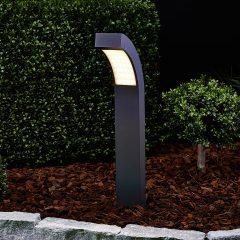 60 cm høy LED-sokkellampe Lennik