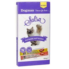 8pk Salsa - flytende kattesnacks laks/kylling/lever