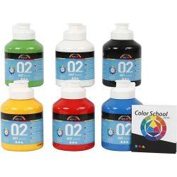 A-Color - Akrylmaling - Matt (6 x 500 ml)