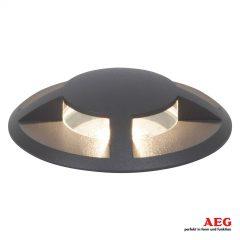 AEG Tritax LED-bakkespot lysstråling i 4 retninger