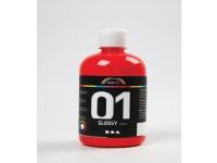 Akrylmaling a-color 01 - blank, rød, 500 ml