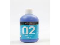 Akrylmaling a-color 02 - mat, blå, 500 ml