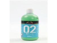 Akrylmaling a-color 02 - mat, lysegrøn, 500 ml