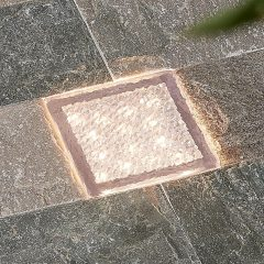 Arcchio Ewgenie LED-bakkespot, 10 x 10 cm