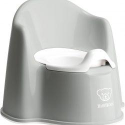 BabyBjörn Pottestol, Grey/White