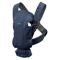 Babybjörn Baby Carrier Mini Navy Blue/3D Mesh One Size