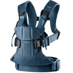 Babybjörn Baby Carrier One Classic Denim/Midnight Blue Cotton Mix One Size