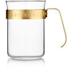 Barista & Co. 2 stk. kopper, med gullring