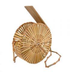 Brun Farrow Jane Bamboo Leather Strap Bag Tilbehør
