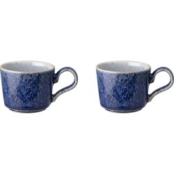 Denby Studio Blue Espressokopp 2-pakk
