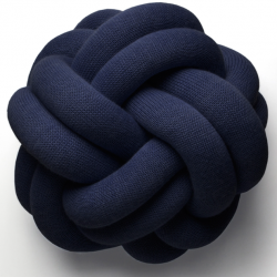 Design House Stockholm Knot Pute Navy