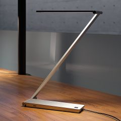 Designskrivebordslampe BE Light med LEDs
