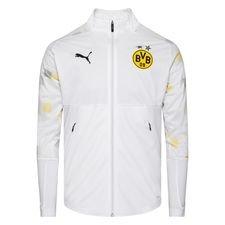 Dortmund Jakke Stadium - Hvit/Gul