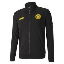 Dortmund Treningsjakke FtblCulture - Sort/Gul Barn