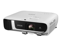Epson EB-FH52 - 3LCD-projektor - 4000 lumen (hvid) - 4000 lumen (farve) - Full HD (1920 x 1080) - 16:9 - 1080p - 802.11n trådløs/Miracast - hvid