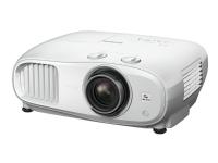 Epson EH-TW7000 - 3 LCD-projektor - 3D - 3000 lumen (hvit) - 3000 lumen (farge) - 3840 x 2160 (2 x 1920 x 1080) - 16:9 - 4K - hvit