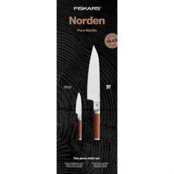 Fiskars Norden Knivsett(Stor kokkekniv og grønnsakskniv)