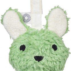 Franck & Fischer Louise Hengende Rangle Rabbit, Green