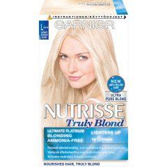 Garnier Nutrisse Truly Blond L+++ Ultimate Platinum Blonde, Garnier Blondering & bleking