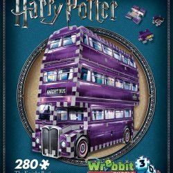 Harry Potter 3D-puslespill Nattbussen 280 Biter