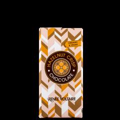 Hazelnut crisp sjokoladeplate ØKO, 80 g