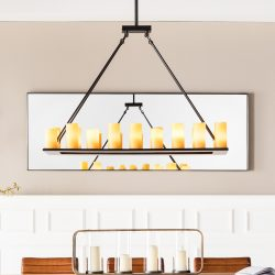 Hengelampe Candle Light med 30 lys