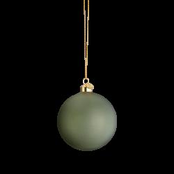 Holmegaard Souvenir Julekule Grønn