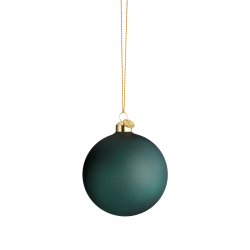 Holmegaard Souvenir Julekule Mørk Grønn