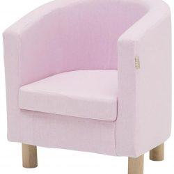 Hoppekids Trekk til Club-Lenestol Light Pink