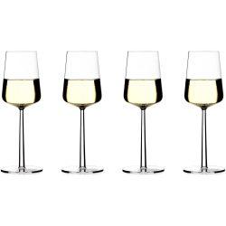 Iittala Essence hvitvinsglass 33 cl., 4 stk.