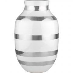 Kähler Omaggio Vase 305 mm Sølv