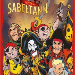 Kaptein Sabeltann Kortspill Firkort
