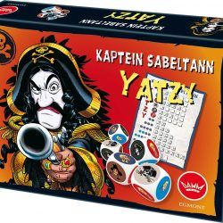 Kaptein Sabeltann Spill Yatzy