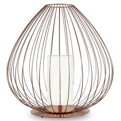 Karman Cell - bur-gulvlampe, bronse, Ø84cm