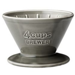 Kinto SCS-04-BR brewer 4 cups gray
