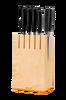 Knivblokk Functional 5 kniver