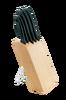 Knivblokk med 5 kniver Essential