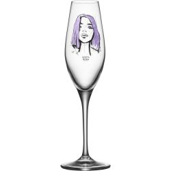 Kosta Boda All About You Forever Mine Champagneglass 2 stk