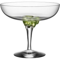 Kosta Boda Sugar Dandy Coupe Glass 32 cl Grønn