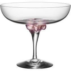 Kosta Boda Sugar Dandy Coupe Glass 32 cl Rosa