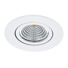 LED-downlight Saliceto rund fleksibel 2 700K hvit