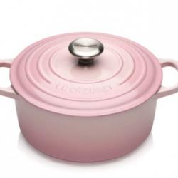 Le Creuset Støpejernsgryte Shell Pink 4.2L